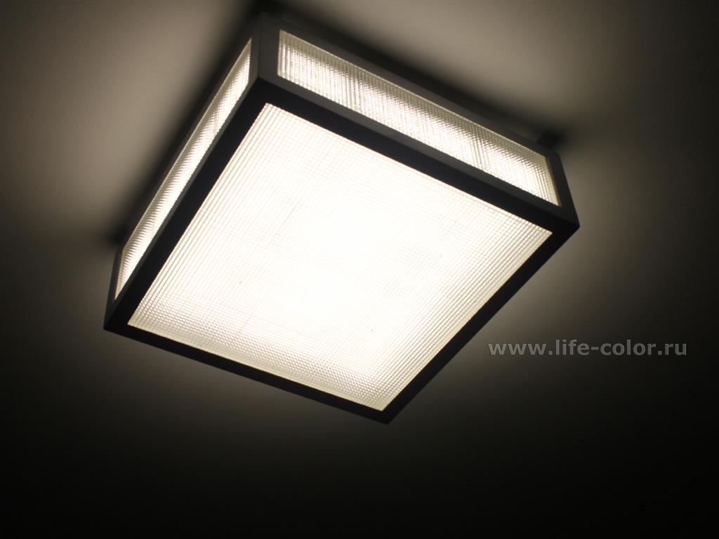 Светодиодные лампы потолочные своими руками